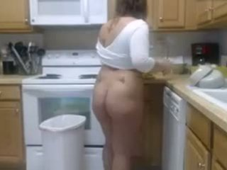 A SEXY GIRL WITH A CHUBBY ASS