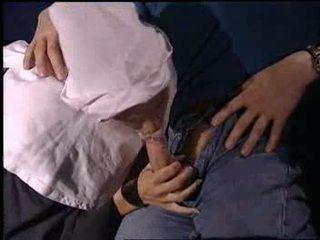 Nun group sex at cinema Video