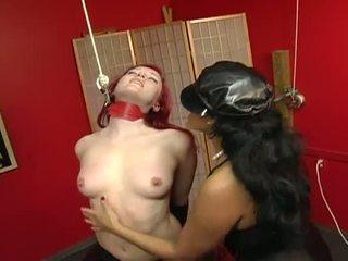 Porner Premium Jon R: Redhead babe slaved by her master