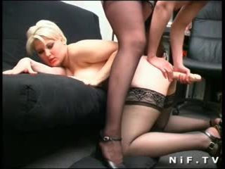 French lesbians love anal toys insertions