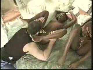 Africa Twins Fucked With 1 Men