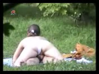 Blonde amateur girl fucking in park Video