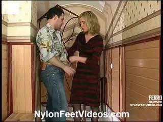 Benett And Monty Nasty Stockings Feet Movie
