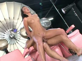 Holly Hot Tiffany Taylor Slamming Her Hairless Snatch On A Dick Until She Cums