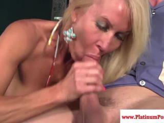 Erica Lauren mature sprayed with cum