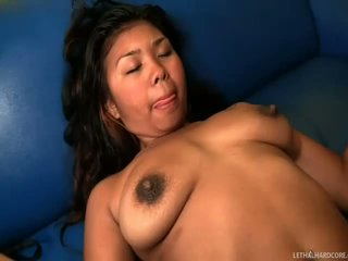 Exotic Malaysia Blue getting her cunt nailed deep