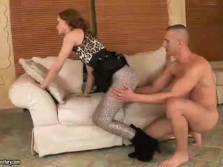 Gitta blond enjoys kuum jalg seks
