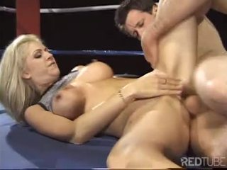 Boxing porn session