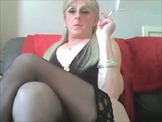 real crossdresser, sex film, rated solo sex