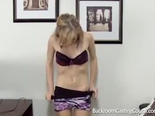 young, audition, first time, shaved