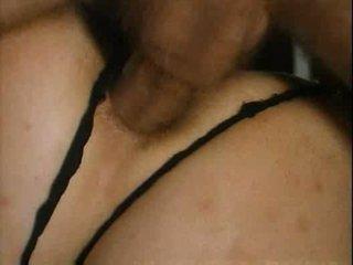 mature big tits getts deep anal sex