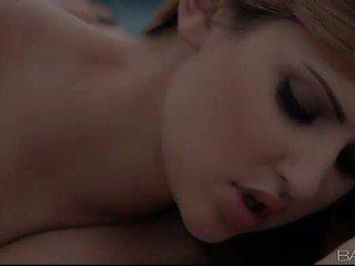 Natasha Malkova n Mandy Sky hot foreplay
