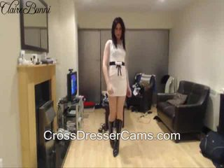 any brunette watch, fresh crossdresser rated, solo check