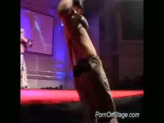 lesbo actie, dans scène, kijken dijk porno