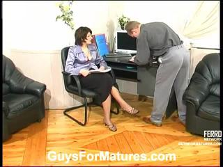 ChrisTina And Adrian Stunning Mommy Inside Action