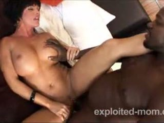 hot milf gets pounded by black cock