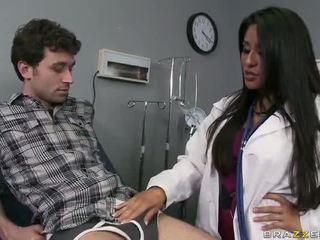 Grand cul docteur jenaveve jolie wants à gets baisée dur vidéo
