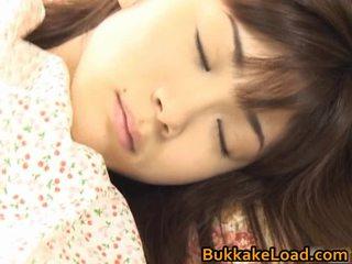 Asuka ohzora hawt anal creampie model acquires seks cream
