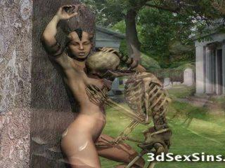 3d creatures quái babes!