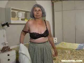 vecchio, maggiore, nonna