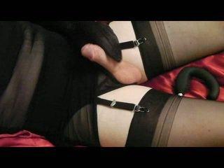crossdresser, cumshot tube, ideal masturbation