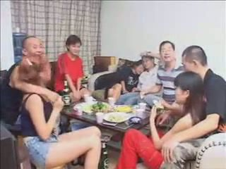 מין קבוצתי, אישה, hardsextube, סיני