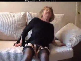 Adorable British Granny Gets Fucked amp Does Anal british euro brit european cumshots swallow