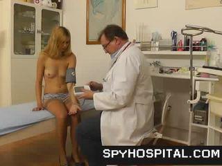 vagina, echt dokter video-, vers verborgen cams