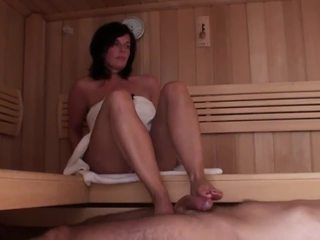 see brunette channel, see mom posted, real homemade movie
