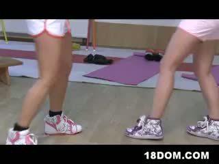 Femdom Teen Girls Boxing