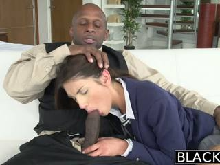 Blacked real model august ames loves negru pula
