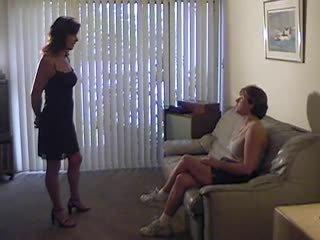lesbiennes film, femdom porno, spanking