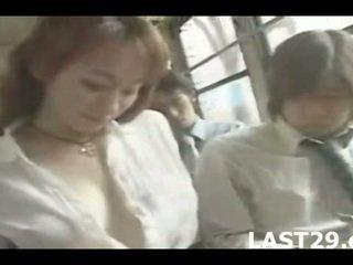plezier grote borsten, alle japan, controleren bus neuken