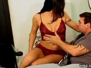 Rhiannon bray's cunt licked sucked by stud