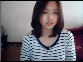 Comel remaja warga asia webcam