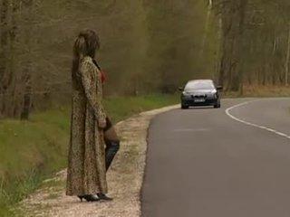 een frans gepost, buiten-, prostituee actie