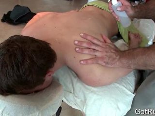 Unfathomable anal permeating massage