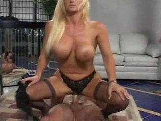 Horny Milf Kat KleEvage Slammed Down On Roch Hard Cock For Deep Fucking