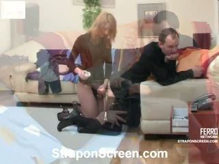 Melanie And Monty Erotic Strapon Vid