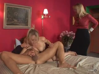 meer deepthroat, beste 69 scène, vers girl-on-girl vid