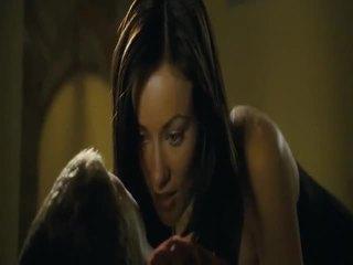 hardcore sex film, heetste porno meisje en mannen in bed, zien kleine pik en bedelen tit video-