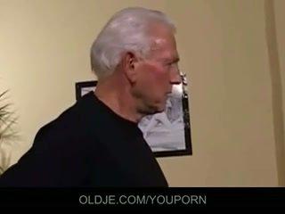 Lama dan muda bertiga fuck