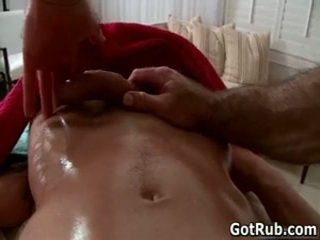 Guy Acquires His Tiny Little Cute Asshole Rubbed