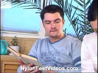 Laura y adam malvado pantis pies acción