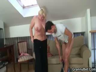 Cock Riding Fat Granny