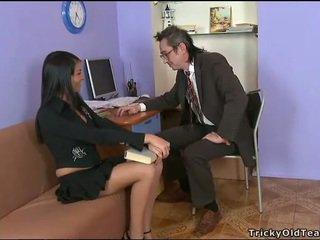 Delightful dubur seks dengan guru