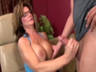 ideal bigtits scene, fun cougar, jerking fucking