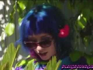 Sexy hot tranny Mandy Mitchell fucking Proxy Paige