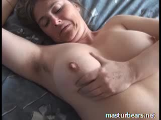 Orgasm at home Busty French Milf Martine Video