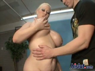 Bunny has big boobs that jiggle while she gets fucked